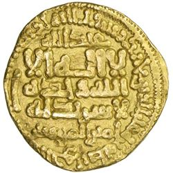 FATIMID: al-Mahdi, 909-934, AV dinar (3.95g), al-Qayrawan, AH303