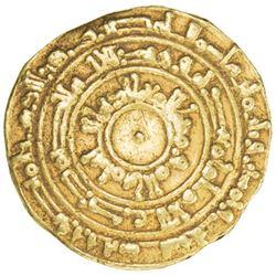 FATIMID: al-Mu'izz, 953-975, AV dinar (4.01g), al-Mansuriya, AH353