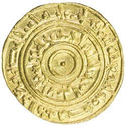 FATIMID: al-'Aziz, 975-996, AV dinar (4.18g), Misr, AH384