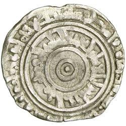 FATIMID: al-'Aziz, 975-996, AR 1/2 dirham, Filastin, AH384