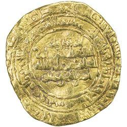 FATIMID: al-Hakim, 996-1021, AV dinar (4.08g), al-Mahdiya, AH387