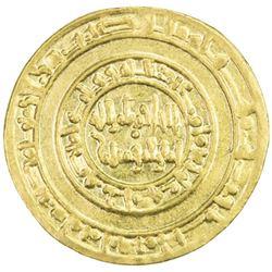 FATIMID: al-Hakim, 996-1021, AV dinar (4.16g), Misr, AH388