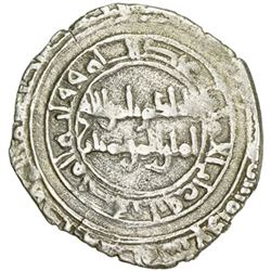 FATIMID: al-Hakim, 996-1021, AR 1/2 dirham (1.34g), al-Mahdiya, AH(3)89