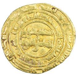 FATIMID: al-Zahir, 1021-1036, AV 1/4 dinar (1.01g), Siqilliya, AH416