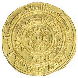 FATIMID: al-Mustansir, 1036-1094, AV dinar (4.11g), Misr, AH466