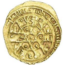 FATIMID: al-Mustansir, 1036-1094, AV 1/4 dinar (0.97g), Siqilliya, DM