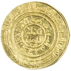 FATIMID: al-Amir al-Mansur, 1101-1130, AV dinar (4.17g), Misr, AH503