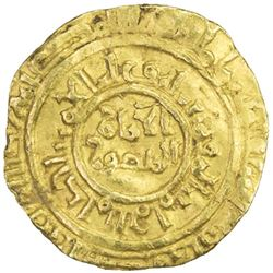 FATIMID: al-Amir al-Mansur, 1101-1130, AV 1/4 dinar (0.84g), Sur, AH502