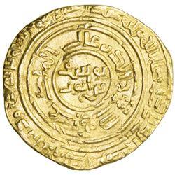 AYYUBID: al-Nasir Yusuf I (Saladin), 1169-1193, AV dinar (4.11g), al-Qahira, AH580