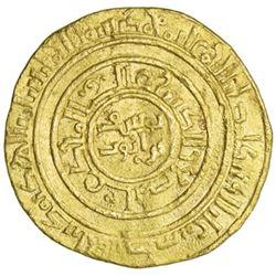 AYYUBID: al-Nasir Yusuf I (Saladin), 1169-1193, AV dinar (4.37g), al-Iskandariya, AH583