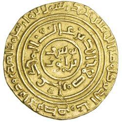 AYYUBID: al-Nasir Yusuf I (Saladin), 1169-1193, AV dinar (3.48g), al-Qahira, AH587