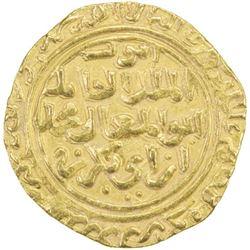 AYYUBID: al-Kamil Muhammad I, 1218-1238, AV dinar (6.06g), al-Iskandariya, AH634