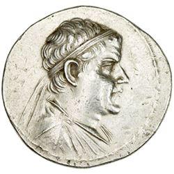 INDO-GREEK: Eukratides I, ca. 170-145 BC, AR tetradrachm (16.85g)
