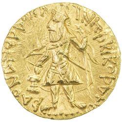 KUSHAN: Kanishka I, ca. 127-147, AV stater (7.95g)