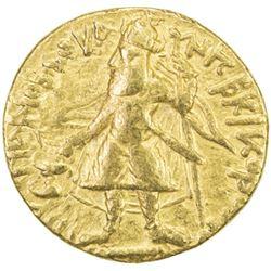 KUSHAN: Kanishka I, ca. 127-147, AV stater (7.83g)