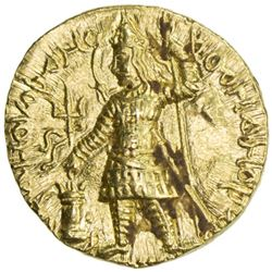 KUSHAN: Vasu Deva I, ca. 191-230, AV stater (8.02g)