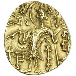 KUSHAN: Gadahara, ca. 360-375, AV stater (7.75g)