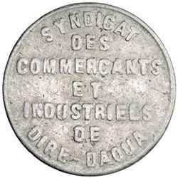 ETHIOPIA: piastre token, 1922