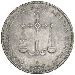 MOMBASA: AR rupee, 1888-H