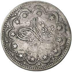 SUDAN: al-Mahdi, 1881-1885, AR 20 piastres (22.36g), NM, AH1302 year 5