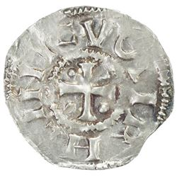 HOLY ROMAN EMPIRE: Heinrich II, 1002-1024, AR denar (1.43g), Cologne