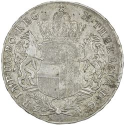 BURGAU: Maria Theresa, 1740-1780, AR taler (27.92g), Gunzburg, 1766