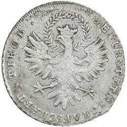 AUSTRIA: AR 20 kreuzer, 1809