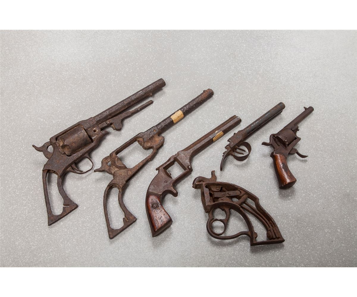Seven Civil War Related Relic Firearms