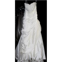 JASMINE F365 WEDDING DRESS SIZE:16