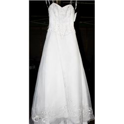 JASMINE T935 WEDDING DRESS SIZE:10