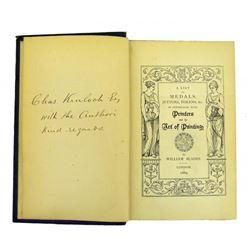 Original Copy of Blades on Printers' Tokens & Medals