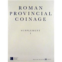Supplement I to Roman Provincial Coinage