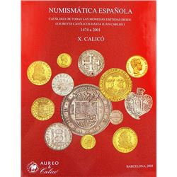 Calicó on Spanish Coinage