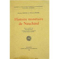 Histoire Monétaire de Neuchâtel
