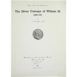 Silver Coinage of William III