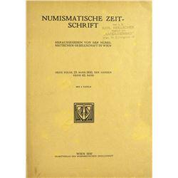 1930 Volume of the Numismatische Zeitschrift