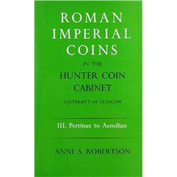 The Hunterian Roman Imperial Coins, III
