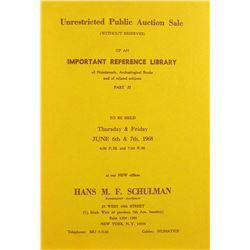 The 1968 Schulman Library Sale