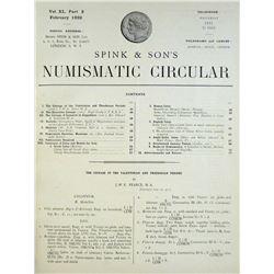 Spink's Numismatic Circular