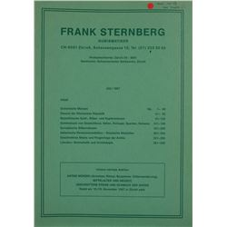 Frank Sternberg Catalogues