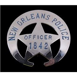 Early New Orleans Police Officer Badge
