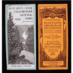 Beartooth and Yellowstone National Park Guides