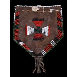 Cheyenne Beaded Pouch from Otto Ernst Collection