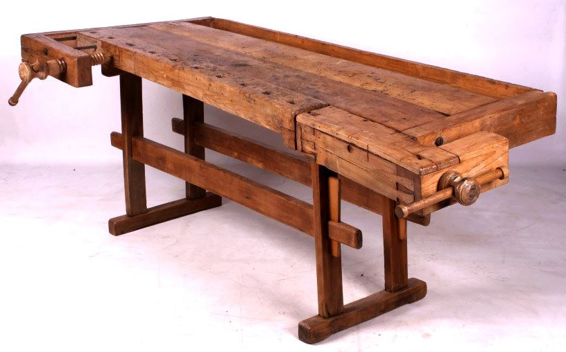 Prime Antique Wooden Carpenters Workbench Pdpeps Interior Chair Design Pdpepsorg