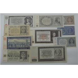 Protectorate, 1940-1942 Issues