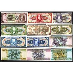 Banco Central do Brasil (14); Republica dos Estados Unidos do Brasil (8).