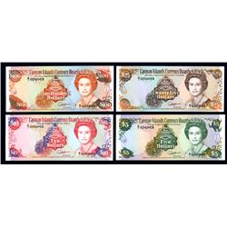 Cayman Islands Currency Board 1991 Issue. Matching Low Serial #