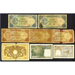 French and Italian Somalia Banknote Assortment