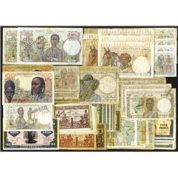 Banque de L'Afrique Occidentale and Afrique Occidentale Francaise.