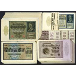Reichsbanknotes and State Issue Notgeld Group.